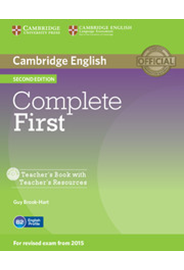 Complete First - Teacher's Book with Teacher's Resources CD-ROM