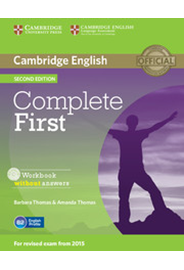 Complete First - Workbook without answers with Audio CD