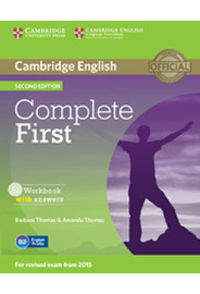 Complete First - Workbook with answers with Audio CD