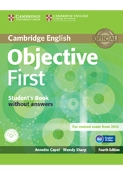 Objective First - Student's Book without answers with CD-ROM