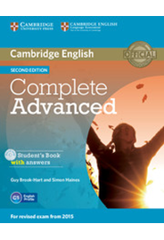 Complete Advanced - Student's Book with answers with CD-ROM