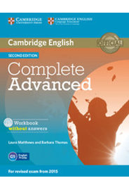 Complete Advanced - Workbook without answers with Audio CD