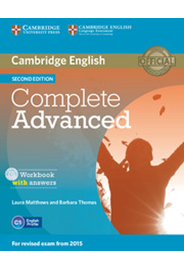 Complete Advanced - Workbook with answers with Audio CD