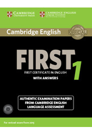 Cambridge English First 1 Student's Book Pack