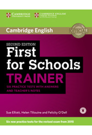 First for Schools Trainer with Answers and Audio