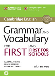 Grammar and Vocabulary for First and First for Schools with Answers + Audio