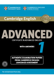 Cambridge English Advanced 1 Student's Book Pack