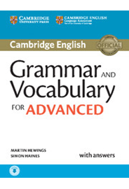Grammar and Vocabulary for Advanced with Answers + Audio
