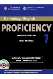 Cambridge English Proficiency 1  Student's Book Pack