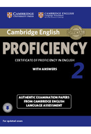 Cambridge English Proficiency 2 Student's Book Pack