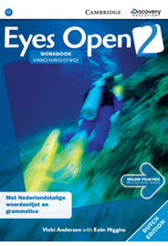 Eyes Open Level 2 - Workbook with Online Practice (Dutch Edition)