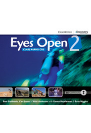 Eyes Open Level 2 - Class Audio CDs (3)