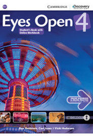 Eyes Open Level 4 - Student's Book with Online Workbook and Online Practice