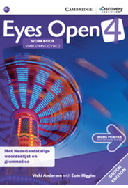 Eyes Open Level 4 - Workbook with Online Practice (Dutch Edition)