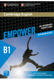 Empower Pre-intermediate - Student's Book with Online Workbook