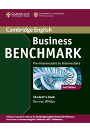 Business Benchmark Business Preliminary Student's Book