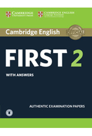 Cambridge English First 2 Student's Book with Answers and Audio