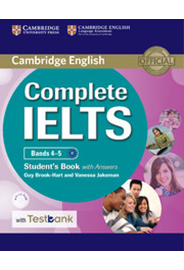 Complete IELTS Bands 4–5 Student's Book with Answers + CD-ROM with Testbank