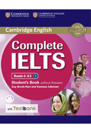 Complete IELTS Bands 5–6.5 Student's Book w/o Answers+ CD-ROM with Testbank
