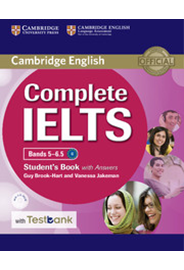 Complete IELTS Bands 5–6.5 Student's Book with Answers + CD-ROM + Testbank