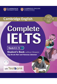 Complete IELTS Bands 6.5–7.5 Student's Book w/o Answers + CD-ROM + Testbank