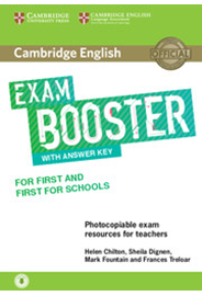Exam Booster for First and First for Schools with Answer Key & Audio