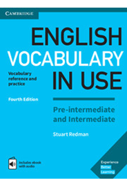 English Vocabulary in Use PI and I - Book with answers and Enhanced ebook