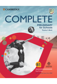 Complete Preliminary fS - Teacher's Book with Downloadable Resource Pack