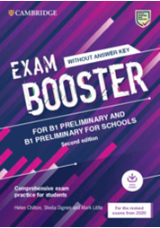 Exam Booster for Preliminary and Preliminary fS wo/Answer Key with Audio
