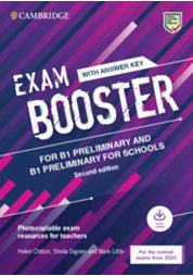 Exam Booster for Preliminary and Preliminary fS w/Answer Key with Audio