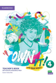 Own it! Level 4 Teacher's Book with Digital Resource Pack