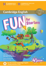 Fun for Starters Student's Book with HFB and Online Activities