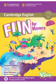 Fun for Movers Student's Book with HFB and Online Activities